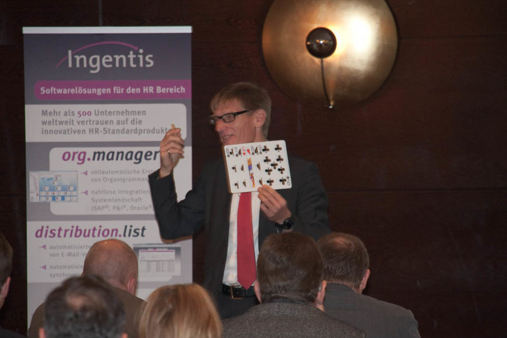 Second Ingentis org.manager Customer conference in Düsseldorf