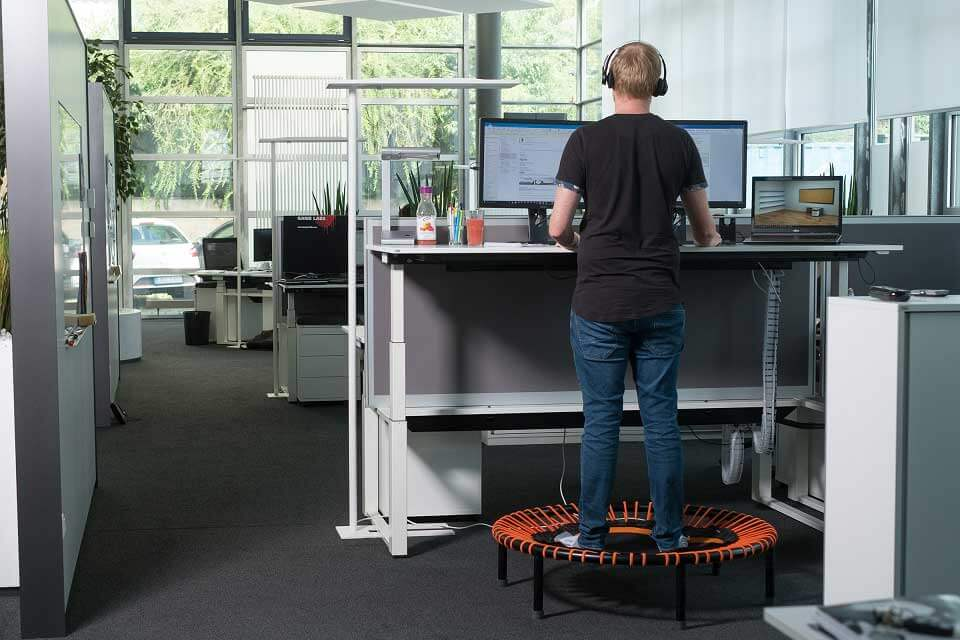 Working spaces at Ingentis Softwareentwicklung GmbH in Nürnberg