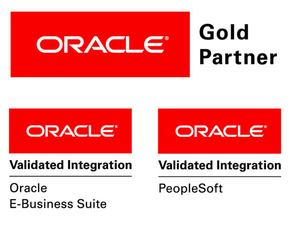 Oracle Logo Validated Integration Oracle Business Suite, PeopleSoft