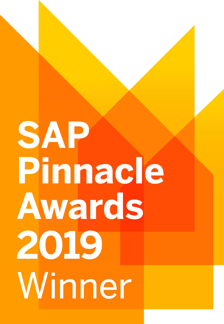 sap pinnacle award 2019 - winner