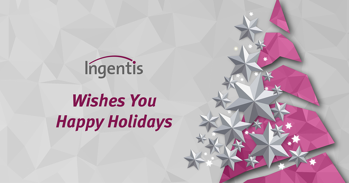 We wish you happy holidays and a great 2020